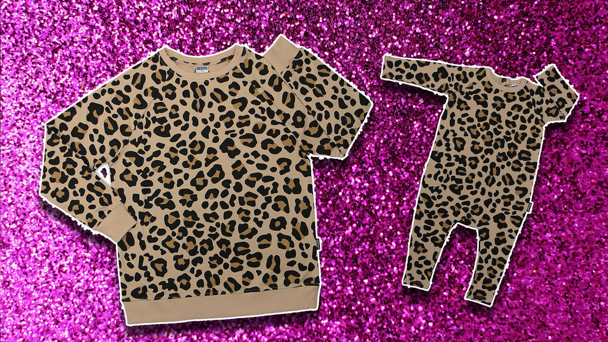 These leopard print outfits are perfect for mums and their little cubs