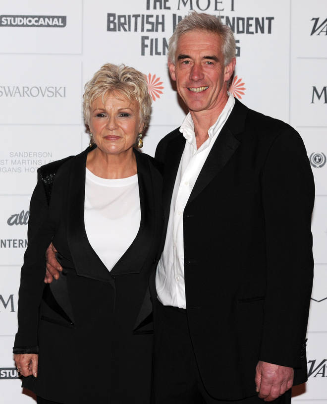 Julie Walters and her husband Grant Roffey