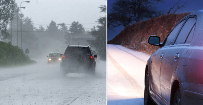 More severe weather is on the way... (stock images)