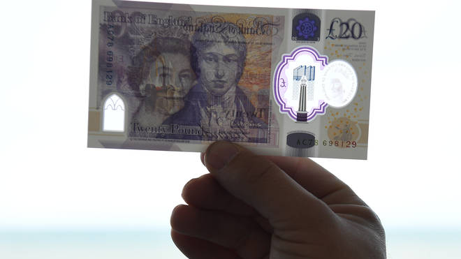The Bank of England is cracking down on forgery with the new notes