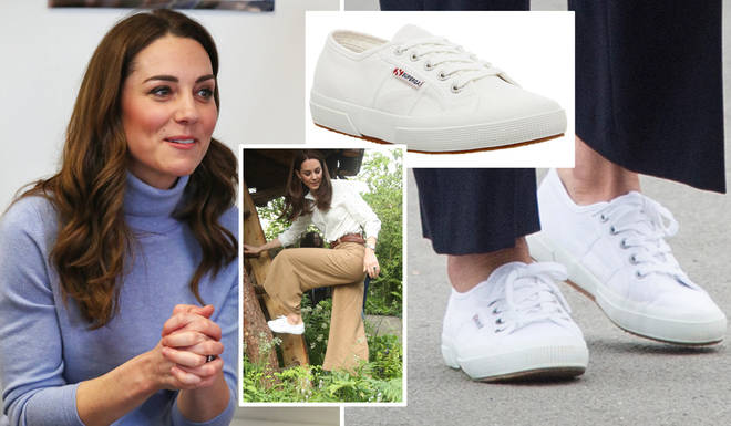 Kate Middleton's favourite trainers are now in the sale