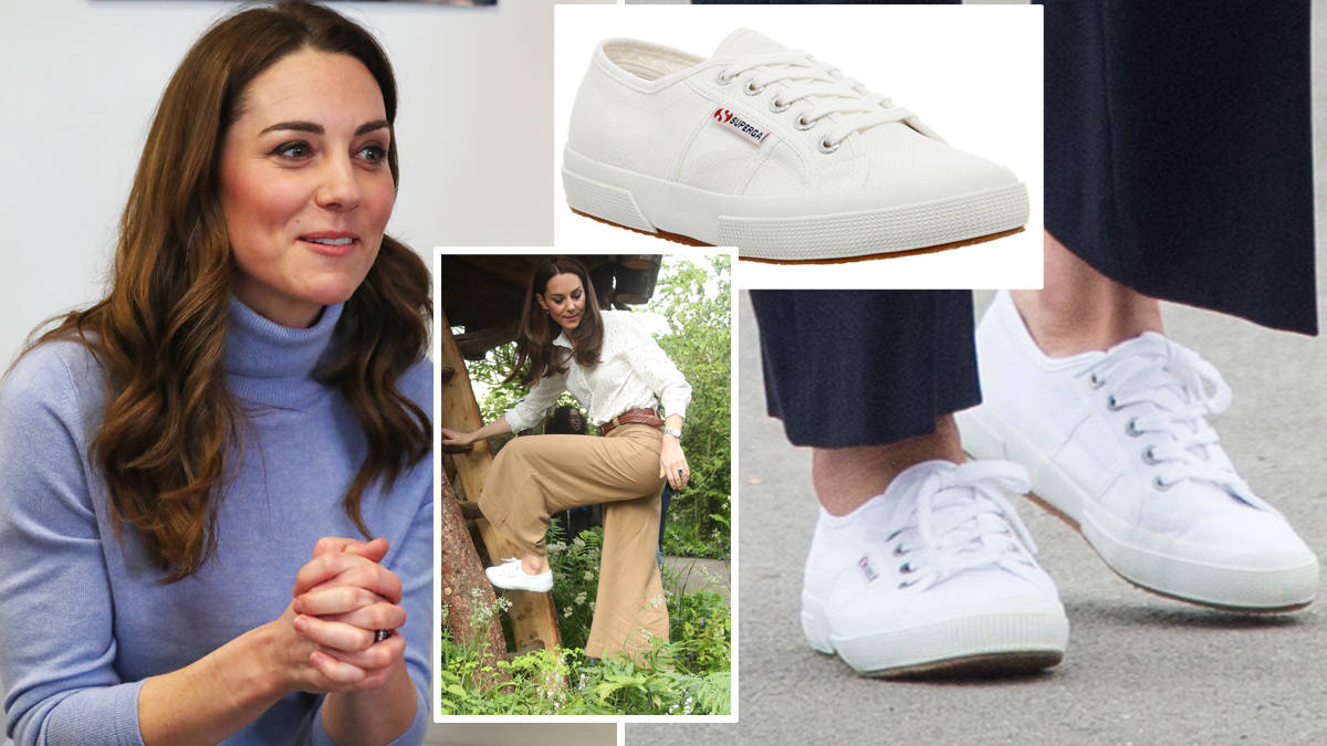 Kate Middleton's favourite Superga trainers are currently on sale for £30