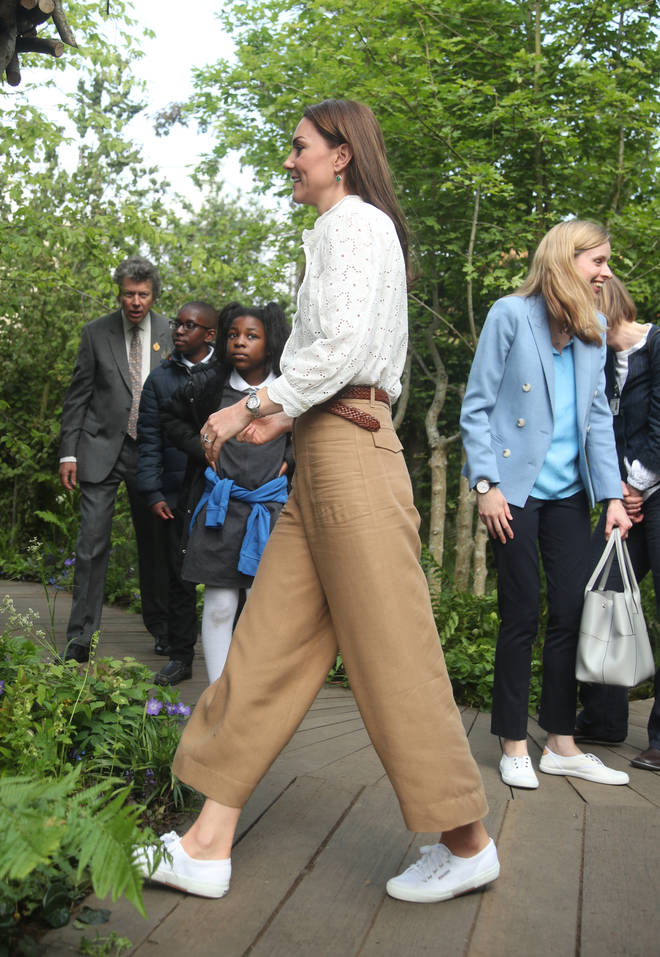 Kate Middleton always turns to her Supergas when she's sporting a casual ensemble