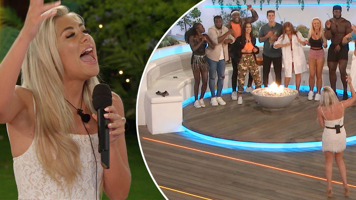 Watch: Paige Turley stuns Love Island co-stars with singing voice