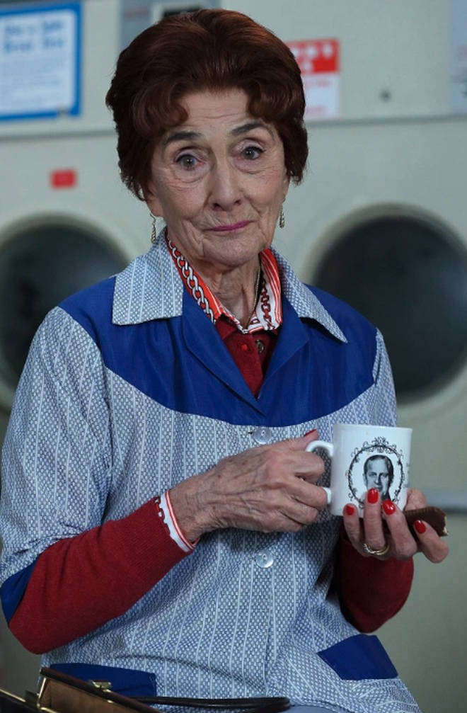 June Brown has played Dot Cotton on EastEnders for 35 years