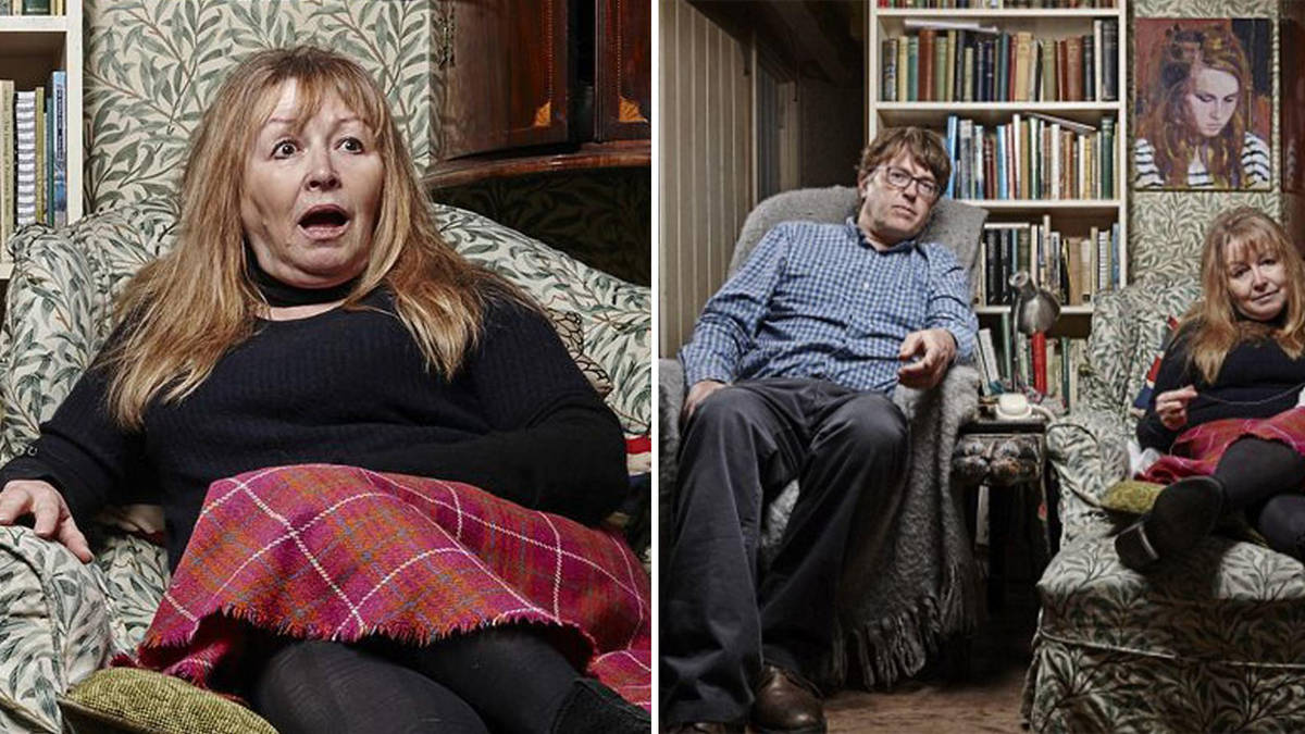 Who are Giles and Mary from Gogglebox and why do they call each other nutty?