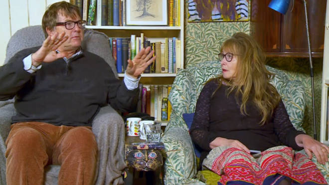 Gogglebox couple Giles and Mary