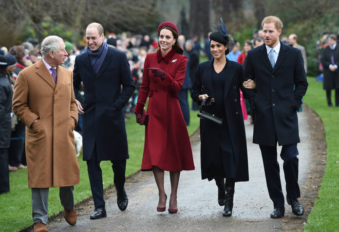 The royal family will all step out together for the Commonwealth Service in March at Westminster Abbey