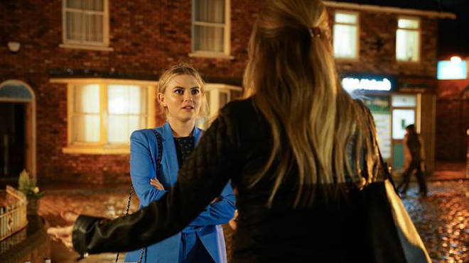 Lucy Fallon has left Coronation Street
