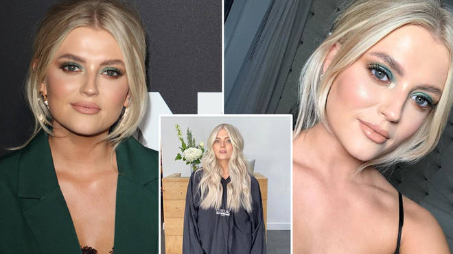 Lucy Fallon has showed off her new hair on Instagram