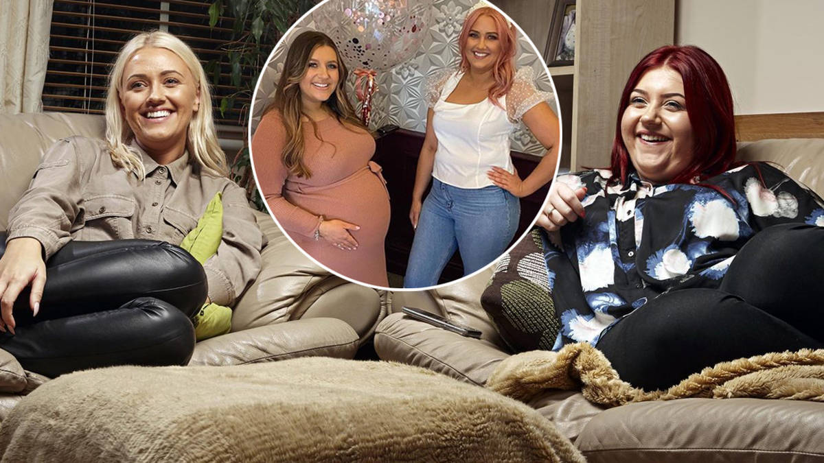 Who are Gogglebox sisters Ellie and Izzi Warner and what are their jobs?