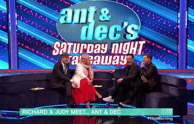 Richard and Judy spoke to Ant and Dec as they announced the return of Saturday Night Takeaway