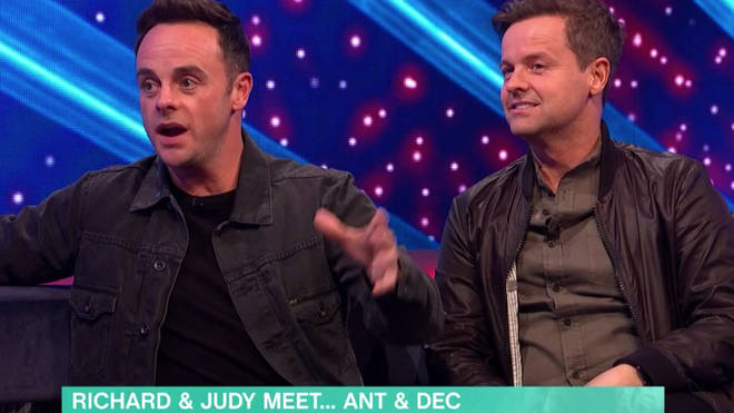 Ant McPartlin laughed the joke off during the interview, saying that a 'personally breakdown' had happened