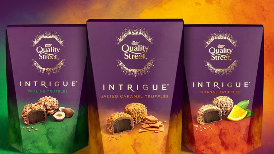 Nestlé announce a new Quality Street product for the first time in 85 years