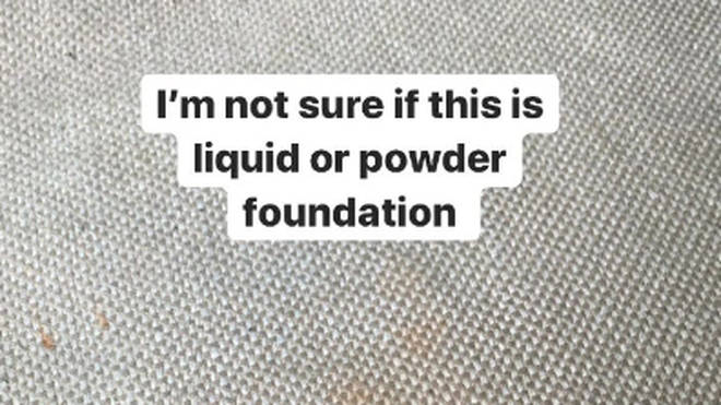 Foundation spills can be tough marks to lift