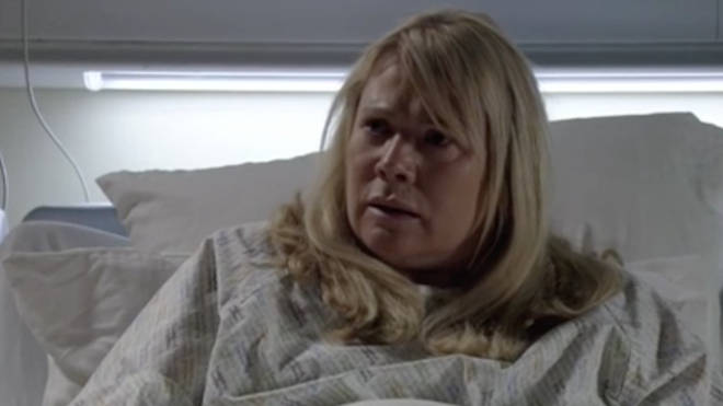 Sharon Mitchell learns her son Denny has died