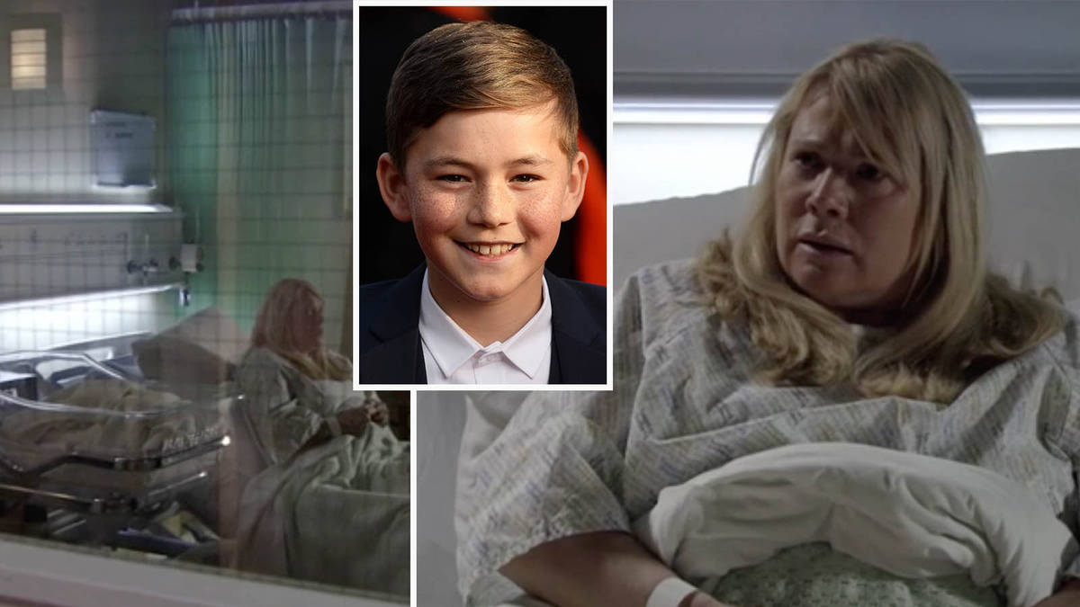 EastEnders fans divided as Sharon Watts' son drowns as she gives birth to Keanu's love child