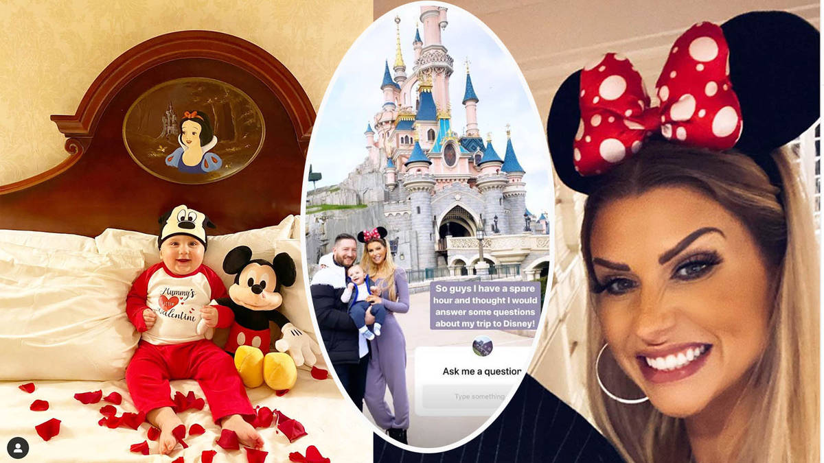 Mrs. Hinch wows fans with unseen photos from her 30th birthday trip to Disneyland Paris