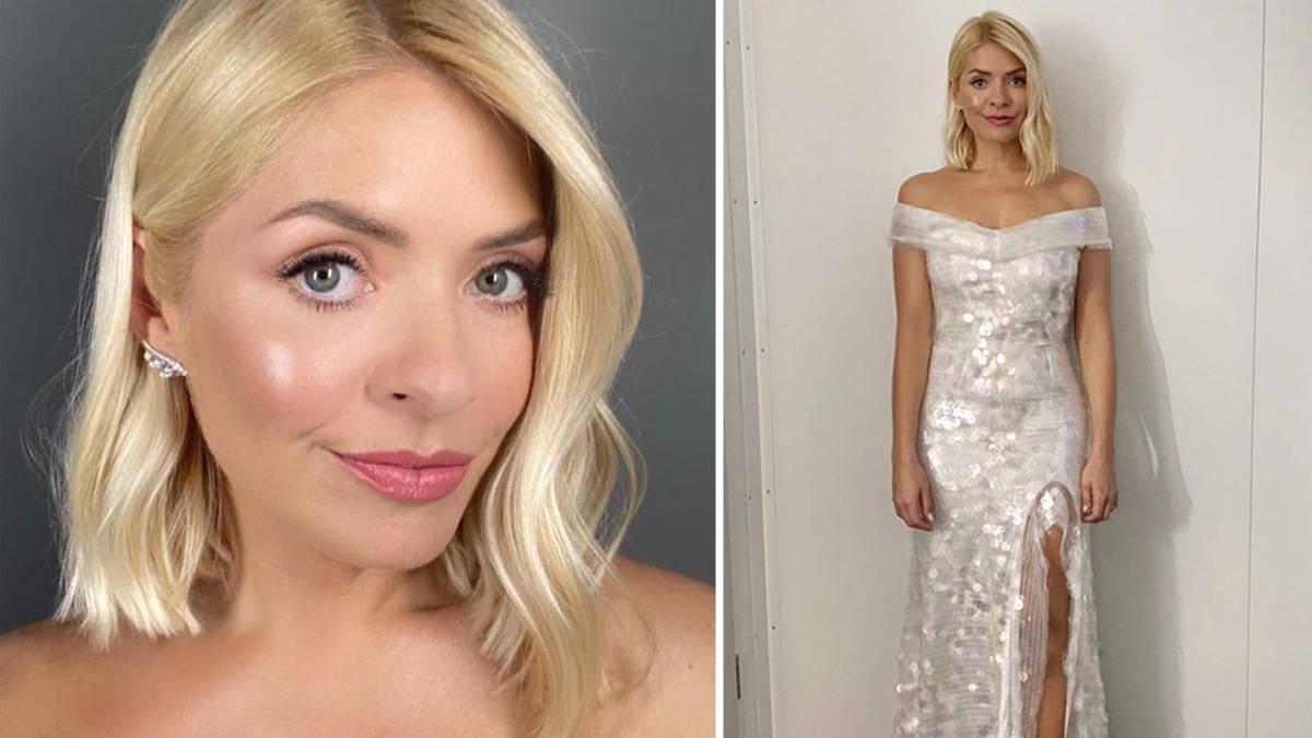 Holly Willoughby channels her inner film star for Dancing On Ice's movie week