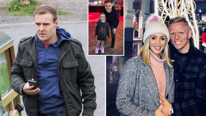 Alan Halsall has hit out at his ex Lucy-Jo Hudson