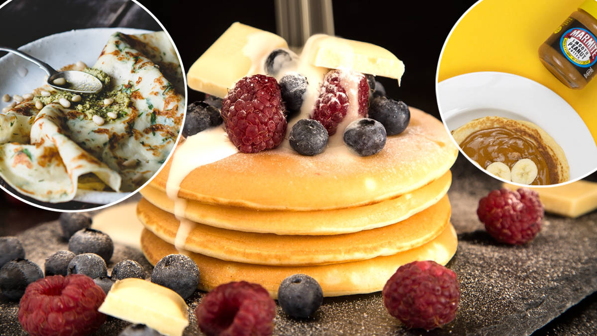 The best sweet and savoury topping ideas for this Pancake Day