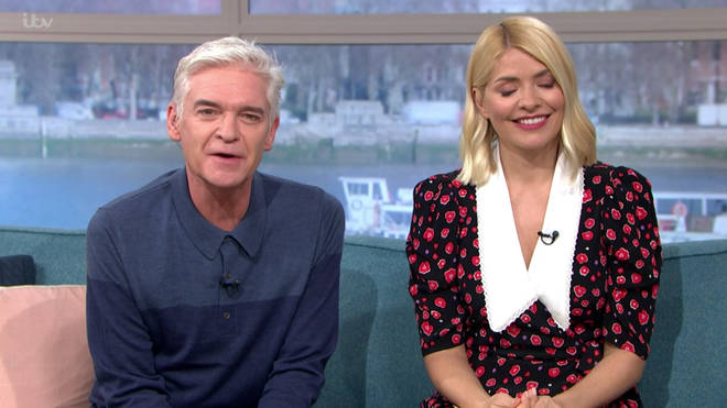 Phillip Schofield was tearing up when they cut to an advert break