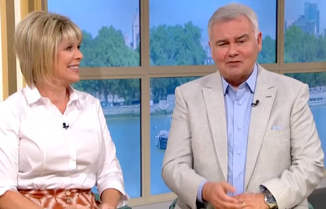 Eamonn Holmes has denied deceiving the taxman in any way