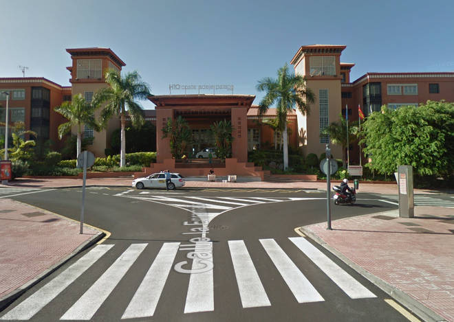 H10 Costa Adeje Palace hotel in Tenerife is believed to have around 1,000 people quarantined
