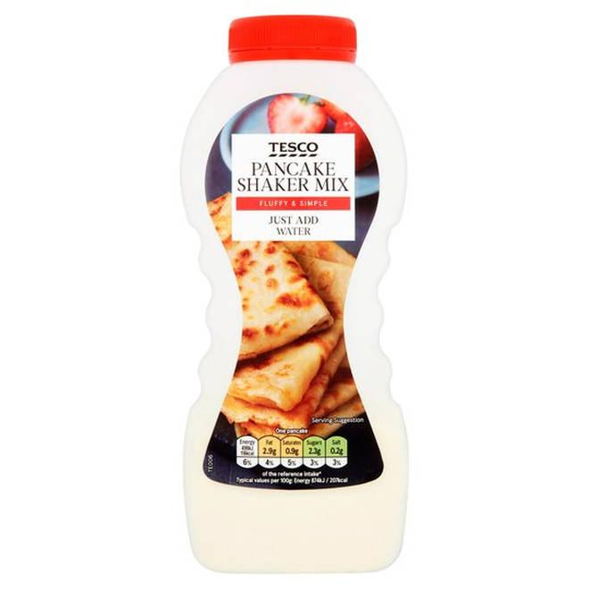 Tesco's traditional pancake mix