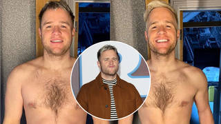 Olly looks incredible after losing an impressive amount of weight