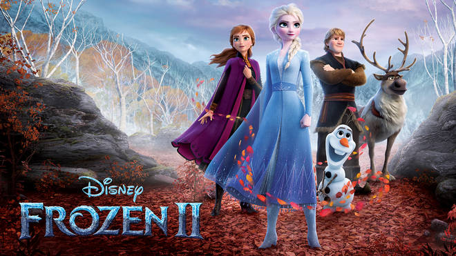 Zoe Hardman and her family watched Frozen 2