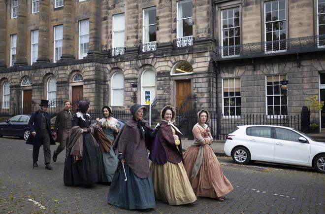 Belgravia was filmed in Edinburgh