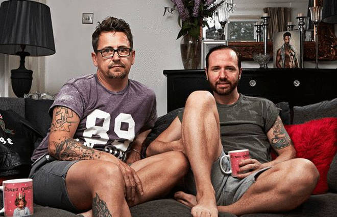 Stephen and Chris on Gogglebox