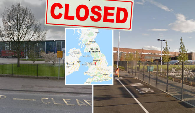 Three schools have closed their doors as the Coronavirus spreads across Europe