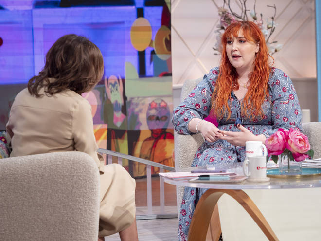Honey Ross opened up about body confidence issues to Lorraine