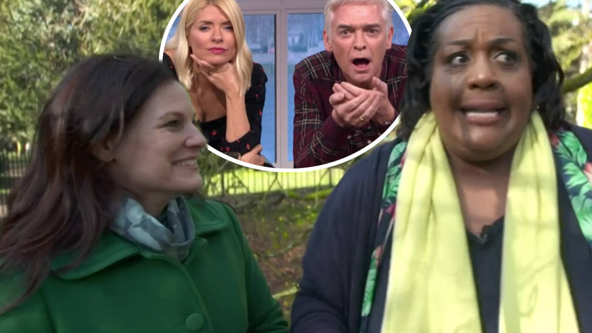 Phillip Schofield and Holly Willoughby left baffled as tree whisperer 'interviews' Allerton Oak on This Morning