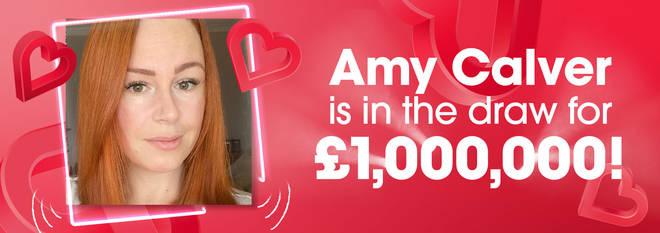 Amy Calver wins £1,000,000