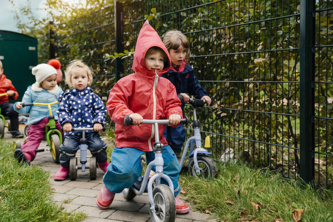 The US nursery school came under fire for the post