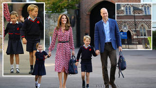 Prince George and Princess Charlotte's London school has pupils self-isolating