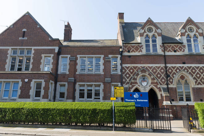 Thomas's Battersea in South West London is awaiting four pupils' test results