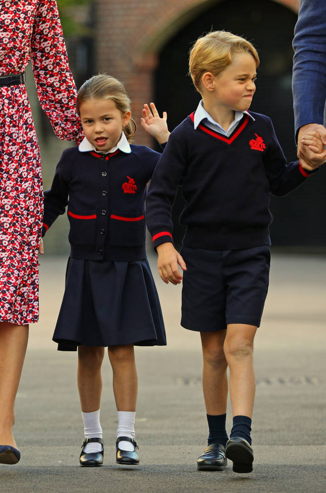 Prince George and Princess Charlotte attend the school in South London