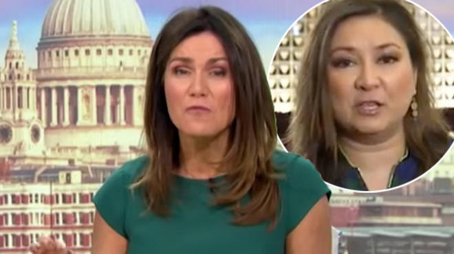 Susanna Reid went head to head with a guest