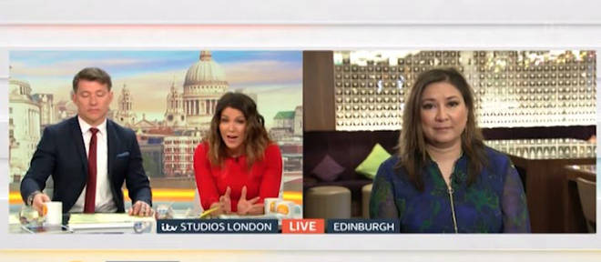 Susanna Reid defended Piers Morgan