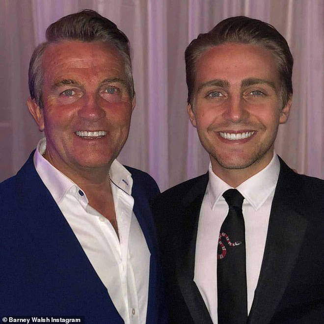 Bradley's lookalike son Barney has a similar look to his dad's new one - maybe they went to the same barber!