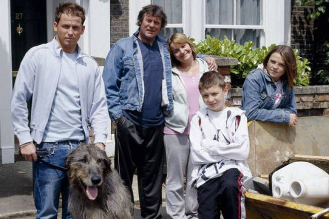 Joe Swash and his family joined EastEnders