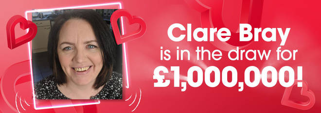 Clare is the second person to enter the £1 million draw