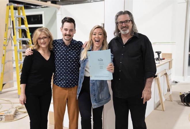 Hilary Duff posts regular updates on the show