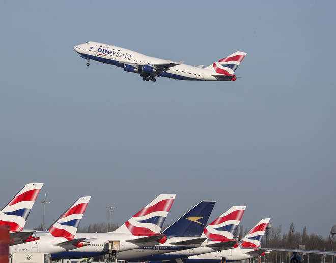 BA has cancelled some of its flights as a result