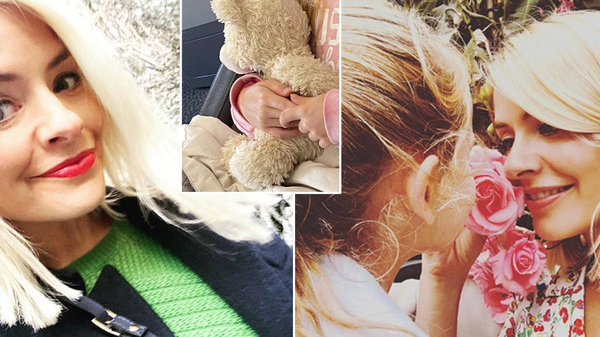 Holly Willoughby begs fans for help over daughter Belle's missing teddy
