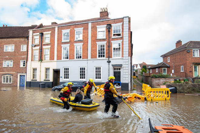 The UK's been subject to severe flooding over the past few weeks